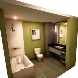 gambar desain kamar mandi kecil sederhana 2013