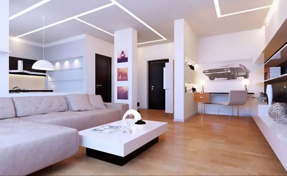 Gambar design interior ruang tamu plafon ruang tamu si momot - Gambar interior design ...