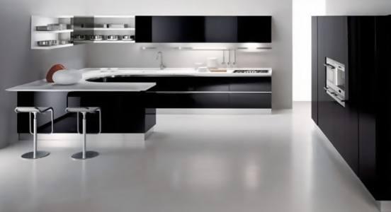 contoh gambar model tata ruang dapur modern 2013 2014 si