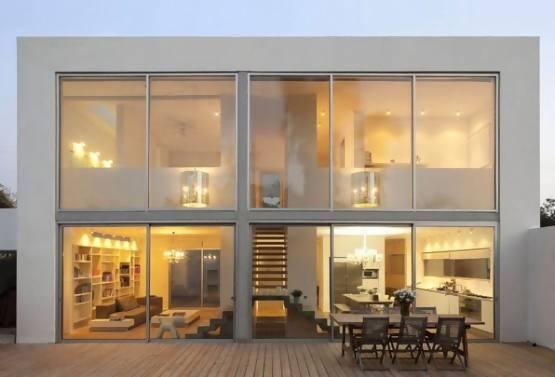 Contoh Rumah Minimalis 2 Lantai Desain Rumah Sederhana 2 Lantai Tampak Depan Rumah Minimalis 2 Lantai 555x377