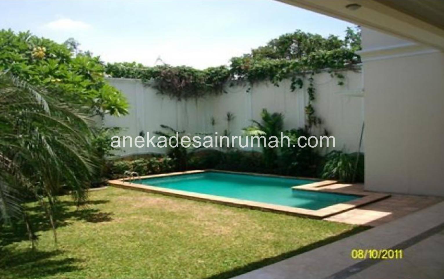Foto kolam renang rumahan, desain minimalis keperluan