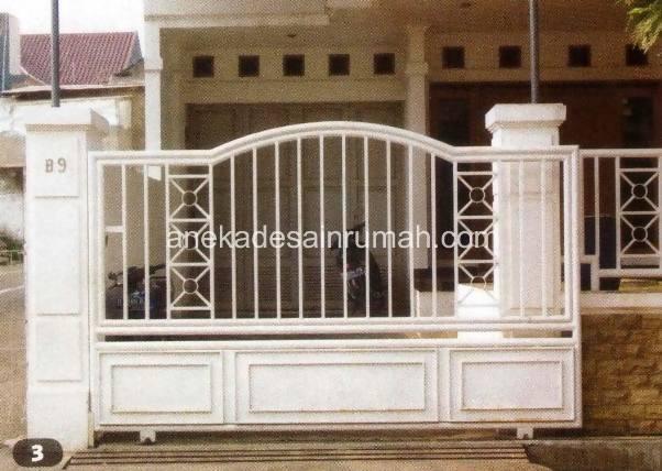 109 Desain pagar dan pintu besi minimalis modern dan ...