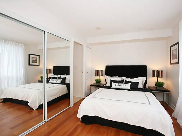 desain gambar kamar tidur kecil