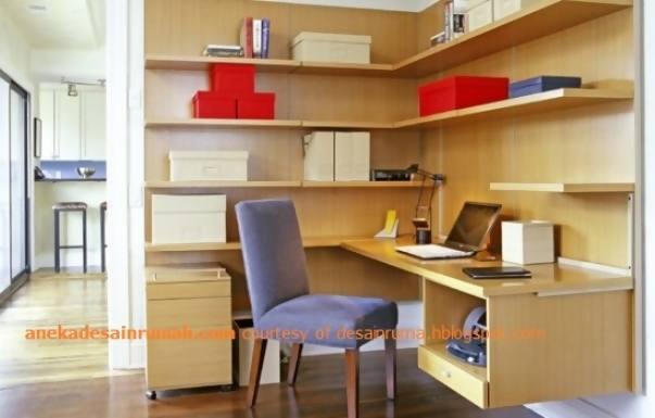 desain ruang kerja di rumah minimalis 2