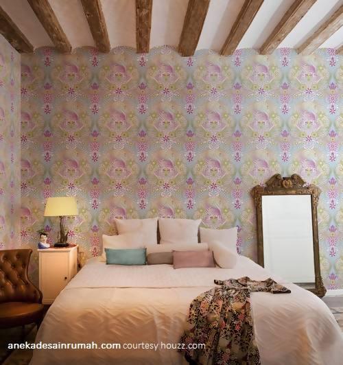 Desain Wallpaper Dinding Kamar Tidur Anekadesainrumah (4