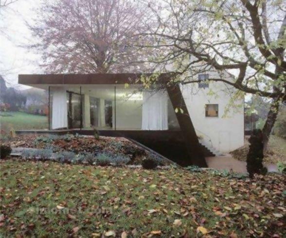 foto desain eksterior rumah minimalis modern ke 177 si
