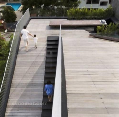 foto desain eksterior rumah minimalis modern ke 188 si