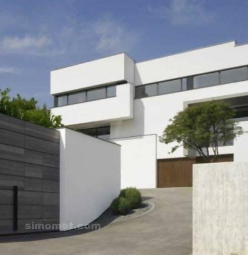 foto desain eksterior rumah minimalis modern ke 308 si