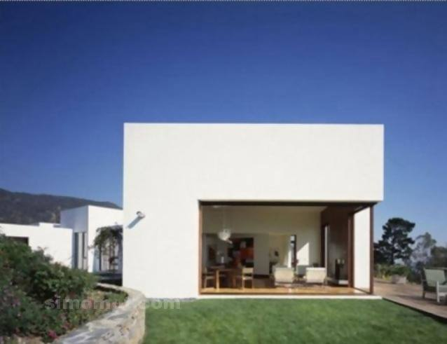 foto desain eksterior rumah minimalis modern ke 329 si