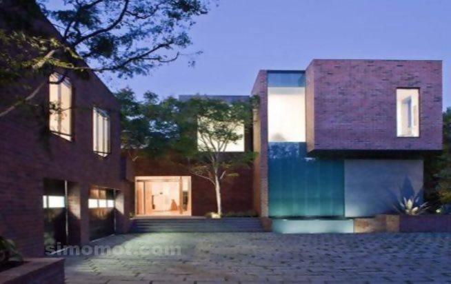 foto desain eksterior rumah minimalis modern ke 394 si