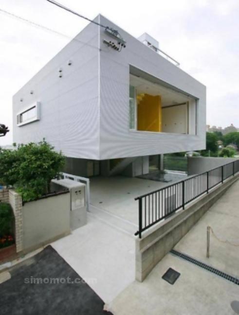 foto desain eksterior rumah minimalis modern ke 398 si