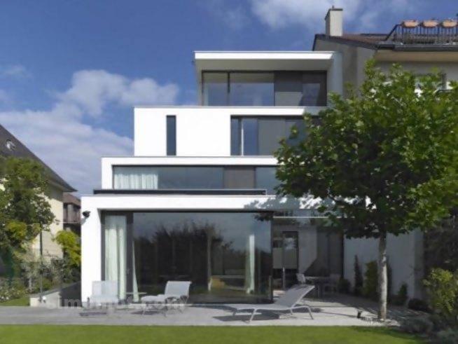 foto desain eksterior rumah minimalis modern ke 4 si momot