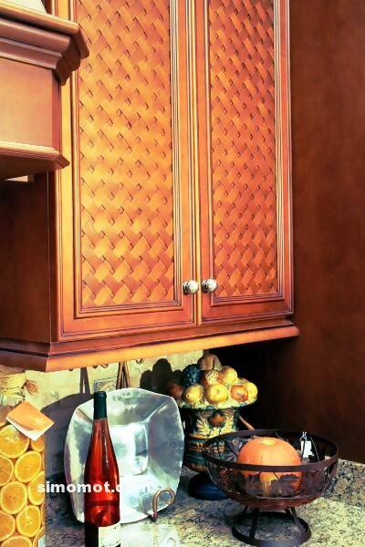 foto desain interior dapur kayu mewah 129 si momot