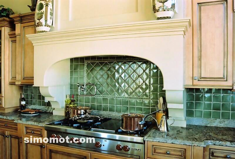 foto desain interior dapur kayu mewah 17 si momot