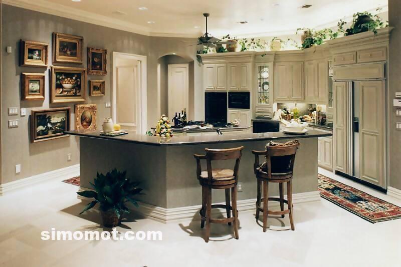 foto dapur mewah