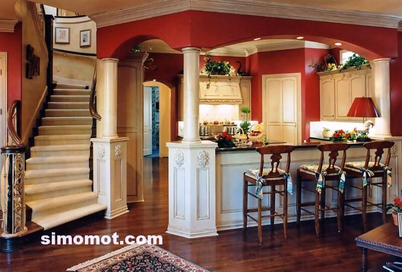 foto desain interior dapur kayu mewah (281)