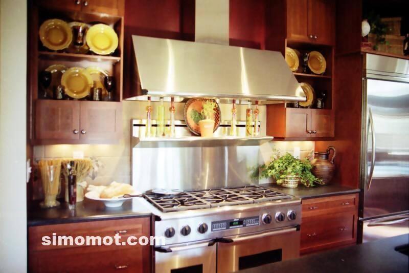 foto desain interior dapur kayu mewah (321)