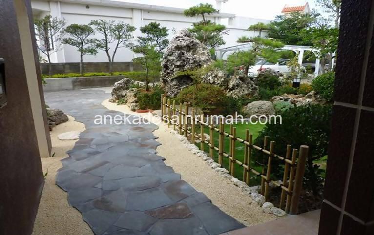 foto desain taman rumah minimalis tanpa air (14)