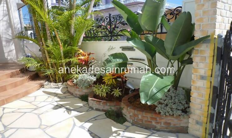 foto desain taman rumah minimalis tanpa air (8)