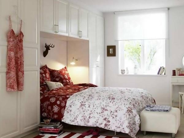gambar desain dan ide penataan kamar tidur kecil minimalis