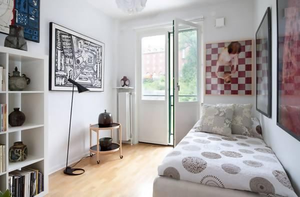 membuat kamar tidur kecil menjadikan rumah terlihat lebih