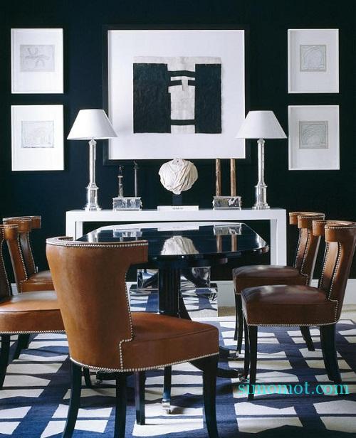 desain dinding interior rumah minimalis 1010 si momot