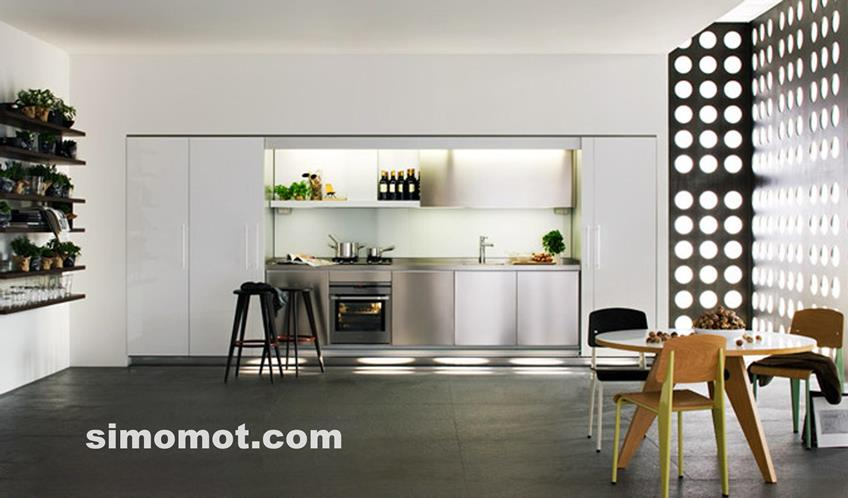 desain interior dapur minimalis modern sederhana 15 si