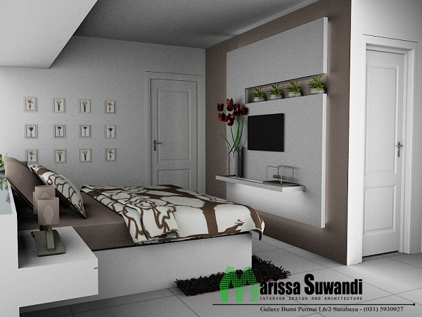 Foto Desain Interior Apartemen Minimalis 1