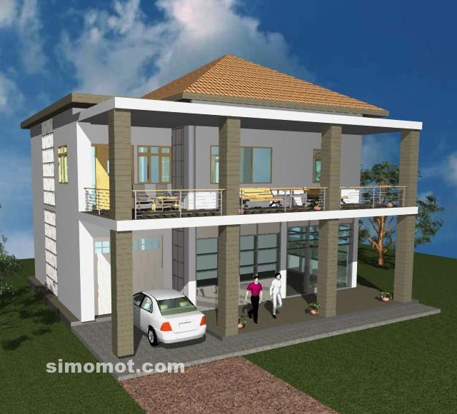 Desain Eksterior Rumah Minimalis 2 Lantai Tambahan 7 Januari 2014 Simomot