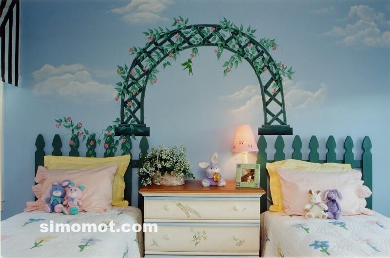 inspirasi foto desain kamar tidur anak balita usia tk
