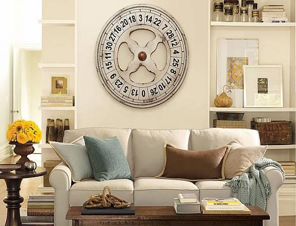 Menjadikan jam dinding sebagai dekorasi rumah 8539f4407a