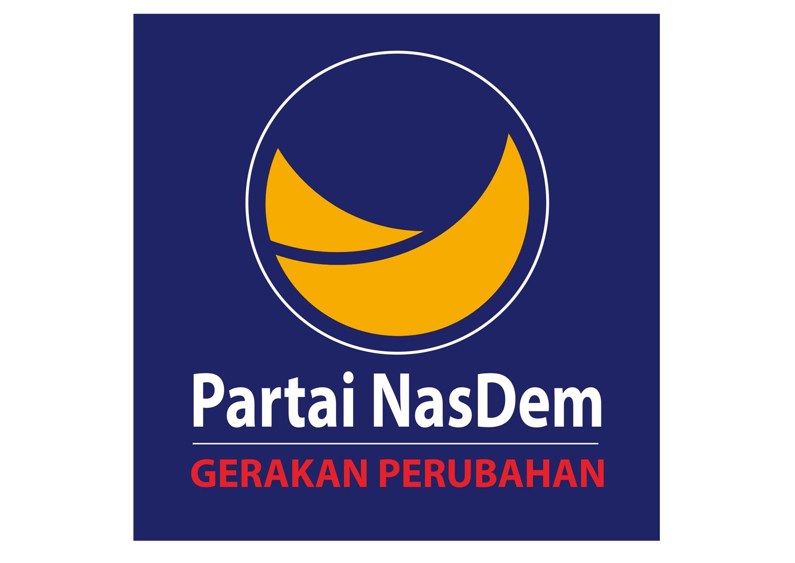 1 Lambang Partai Nasdem Si Momot