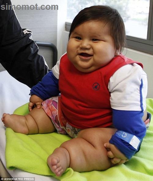 Bayi Paling Gemuk Di Dunia