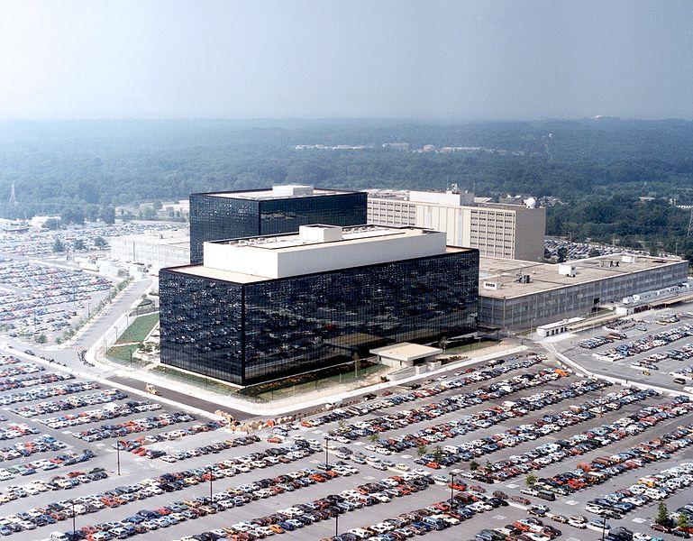 Markas besar NSA di Fort Meade, Maryland (Credit: wikipedia.org)
