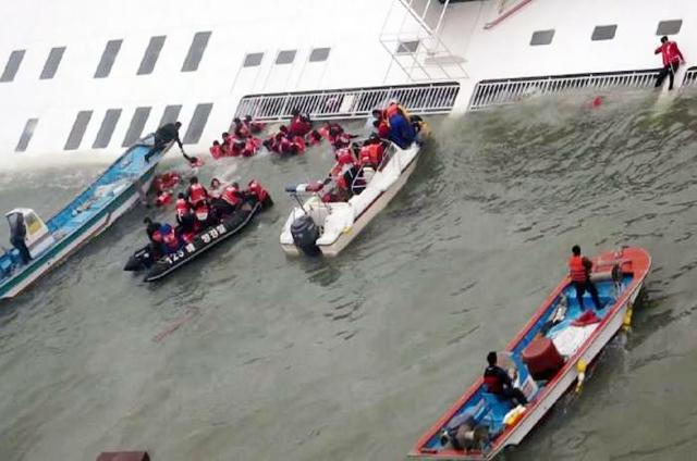Tenggelamnya Kapal Sewol