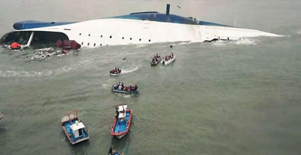 Kisah Tragis Rtenggelamnya Kapal Sewol Di Korea Selatan