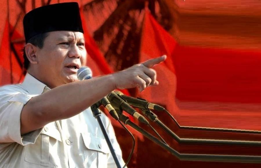 Tak mau kalah, Prabowo pidato kemenangan