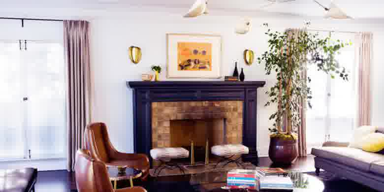 cara membuat desain interior ruang sempit terasa longgar & Trik lain desain rumah sempit terlihat longgar