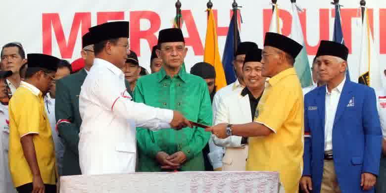 Ke Jokowi atau tetap di Prabowo, Golkar tunggu putusan MK
