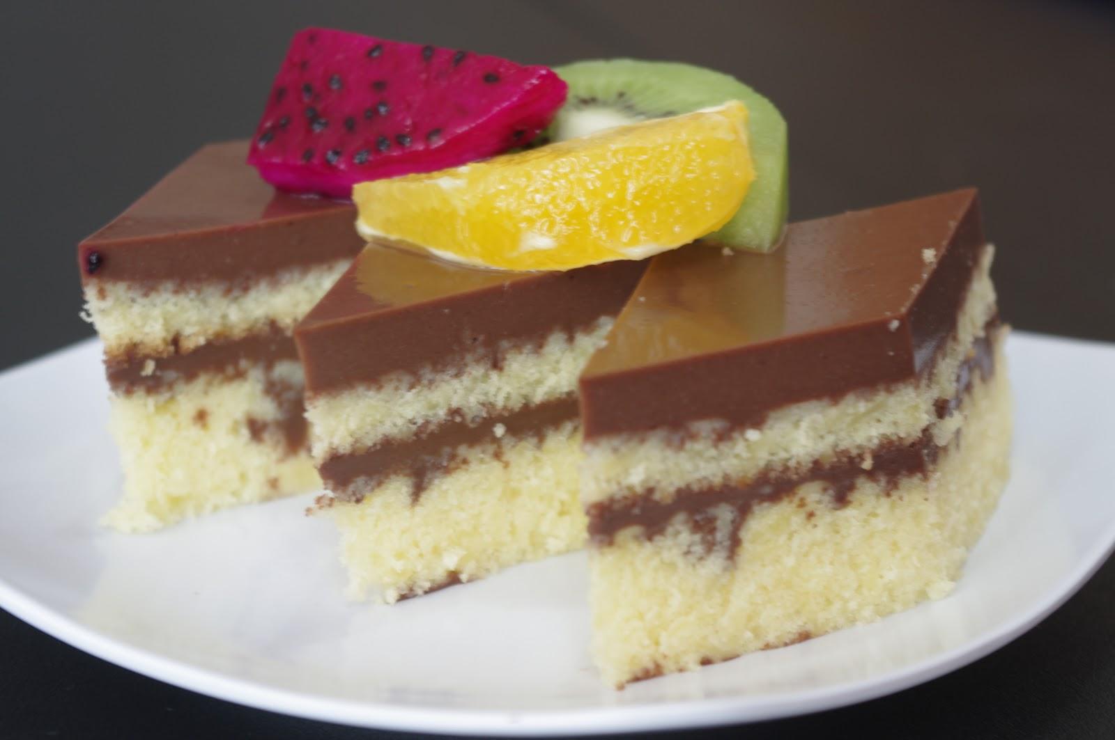 Resep Cake Jadul Enak: Resep Kue Basah: Cake Pandan Lapis Pudding Koktail