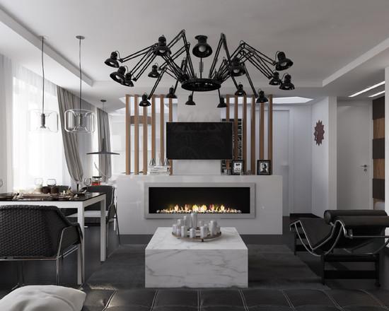 ide desain ruang tamu minimalis modern si momot