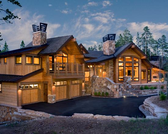 desain rumah country