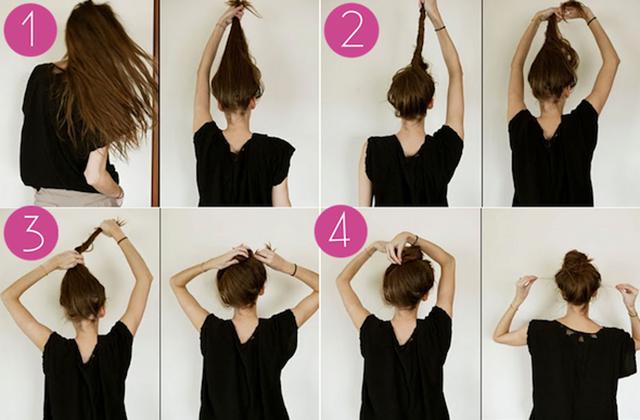 Tips Membuat Rambut Tipis Agar Terlihat Lebih Tebal - Tutorial hairstyle untuk rambut tipis