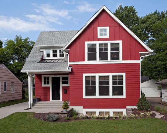 Foto Foto Desain Rumah Bergaya Amerika Simomot