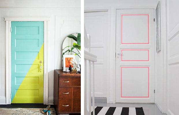 5 tips menambahkan warna desain kamar untuk pecinta warna - Decorazioni su porte interne ...