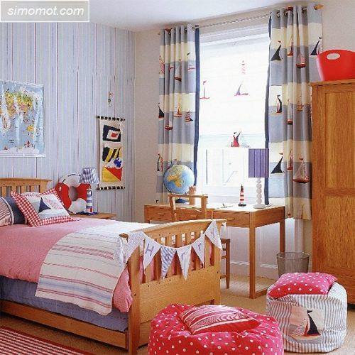 contoh gambar desain kamar tidur anak sederhana 6