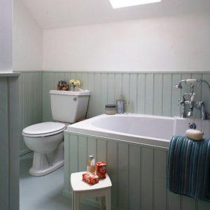 desain interior dan penataan paralatan di kamar mandi