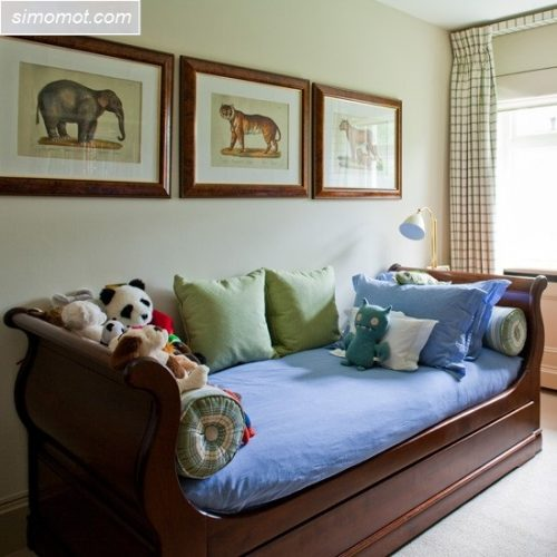 desain interior kamar tidur anak sederhana 16