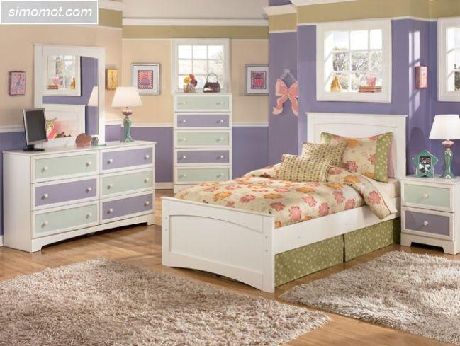 desain interior kamar tidur anak sederhana 6 si momot