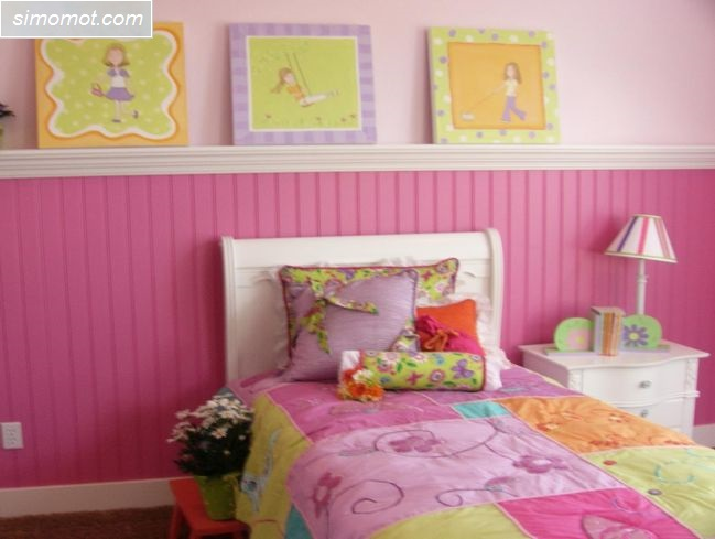 desain kamar tidur anak laki laki 2 si momot